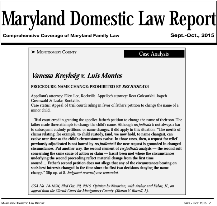 Maryland Divorce Modifications Family Law Assistance